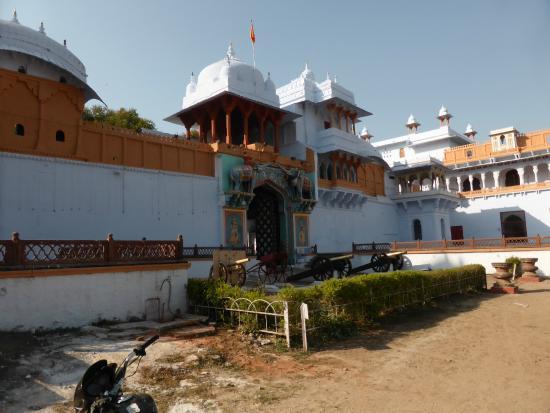 Kotah Garh (City Palace): Entrada para o palácio de Kota e museu.