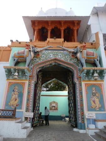 Kotah Garh (City Palace): Entrada principal do palácio de Kota