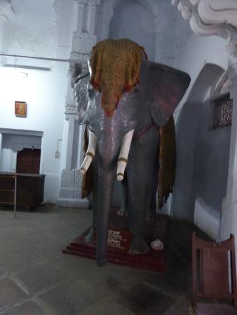 Kotah Garh (City Palace): Replica de um elefante