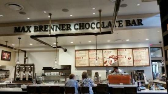 Westfield Garden State Plaza Max Brenner Chocolate