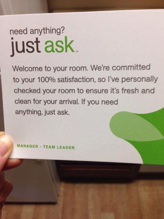 """Extended Stay America - Phoenix - Airport - E. Oak St.: More like, """"you can ask but we'll ignore you."""""""