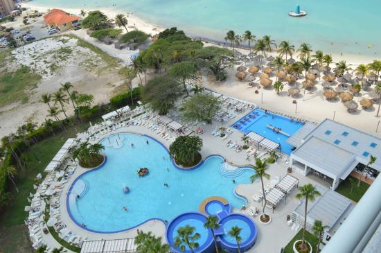 Hotel Riu Palace Antillas View From Room 16th Fl