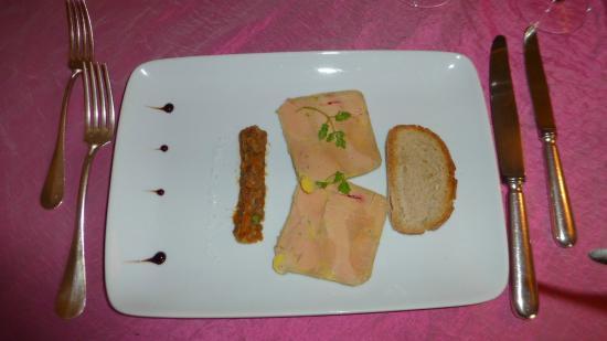 Auberge de Tavel: Foie gras