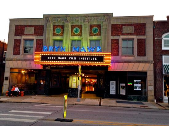 Bryn Mawr, PA: The outside of the theater