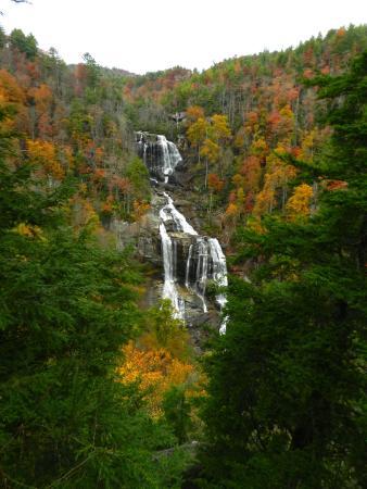 Whitewater Falls: White water Falls