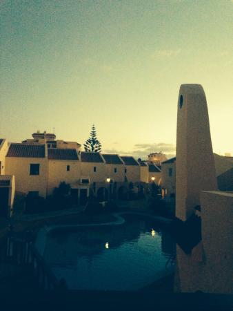 Mare Verde/Maluca: Sun going down...