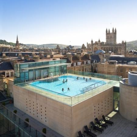 The rooftop pool in bath picture of the bath house bath - Hotels in bath with swimming pool ...