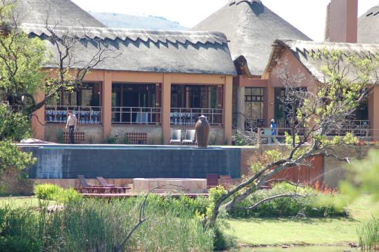 Kloofzicht Lodge & Spa: The dining room
