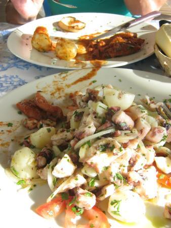 Sottovento: Octopus Catalan (oder so, wir wissen den genauen Namen nicht mehr ;.D)