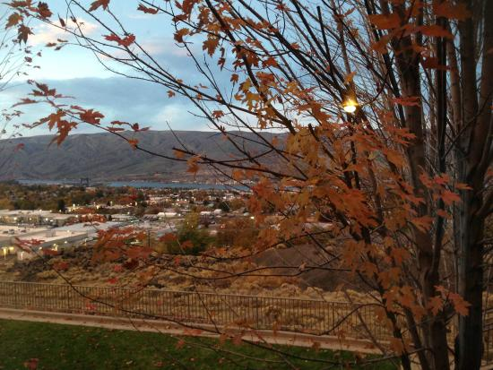 Holiday Inn Express Lewiston: view from room 222