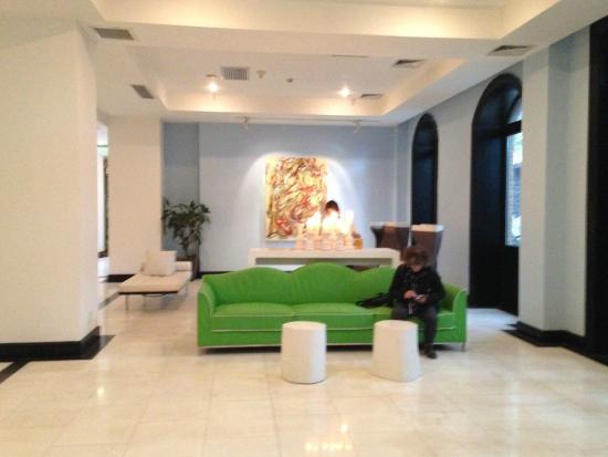 Beijing Yi - House Art Hotel: le lobby du Grace hotel, Beijing