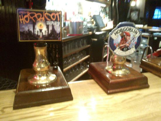 Laird & Dog Hotel : Cask Ales