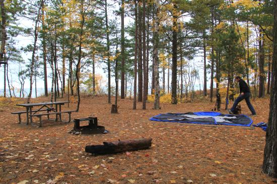 Pictured Rocks National Lakes Twelve Mile Beach Campground