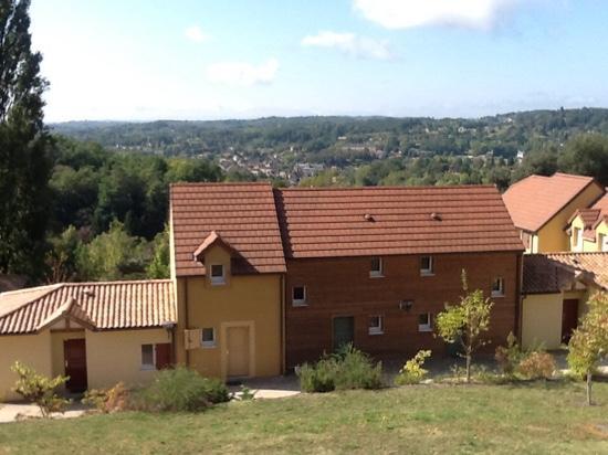 Résidence-Club Odalys Les Côteaux de Sarlat : belle vue de sarlat
