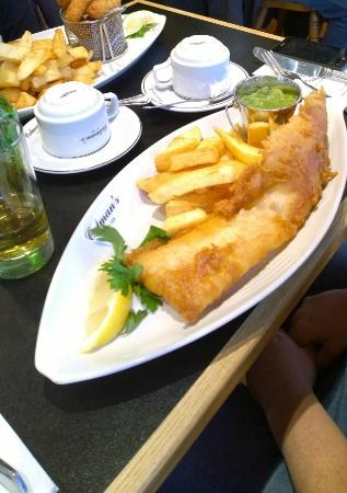Fish chips picture of colmans fish chips south for Coleman s fish