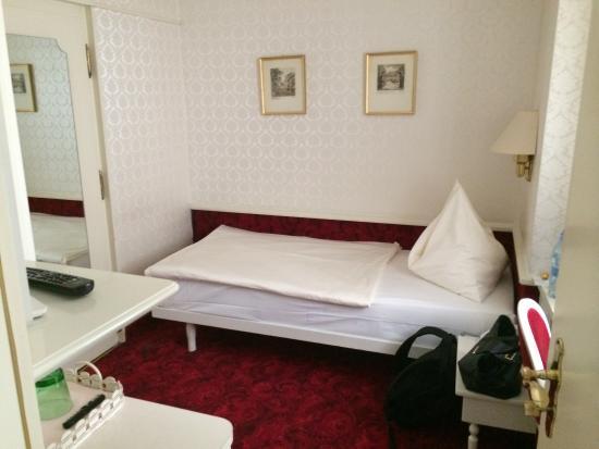 Hotel Amadeus: Amadeus hotel Vienna SGL room