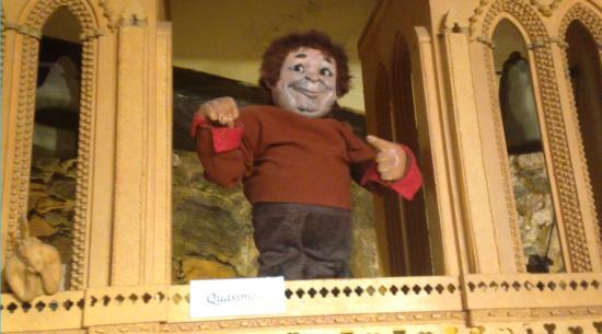 Musée des Automates : Quasimodo puppet at Musee des Automates