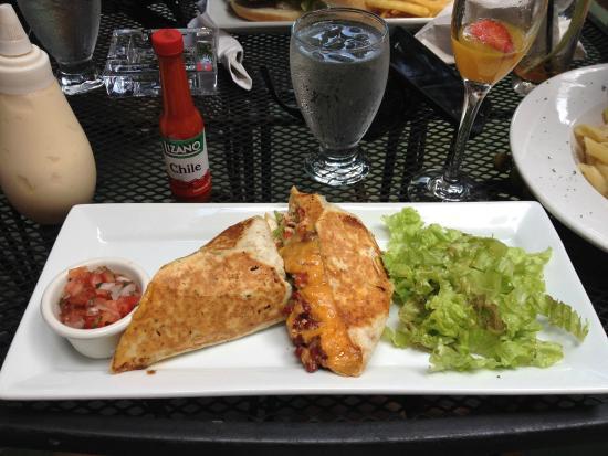 Barrio Cafe: Breakfast burrito was very tasty