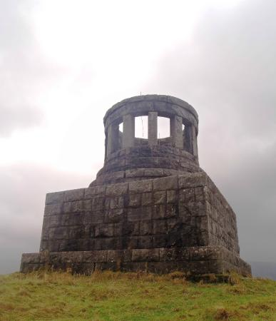 Dalmally, UK: The monument to Duncan