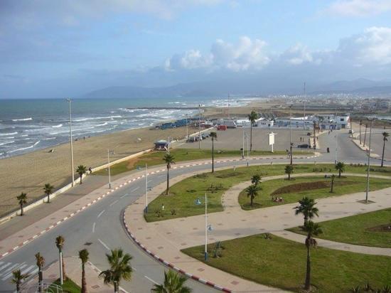 Martil, Marruecos: Vista dal terrazzo al 5 piano