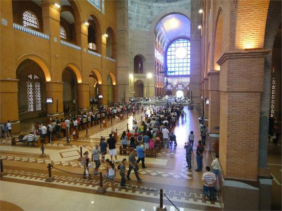 Interior da Basílica de Aparecida
