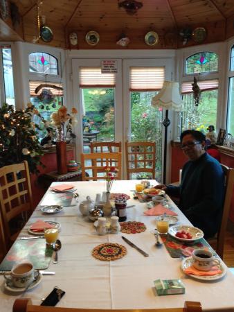 Suncroft Bed and Breakfast: Breakfast room