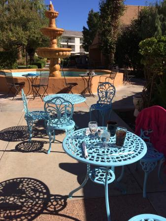 Green Valley Spa and Resort: Breakfast at Tiffany's Patio