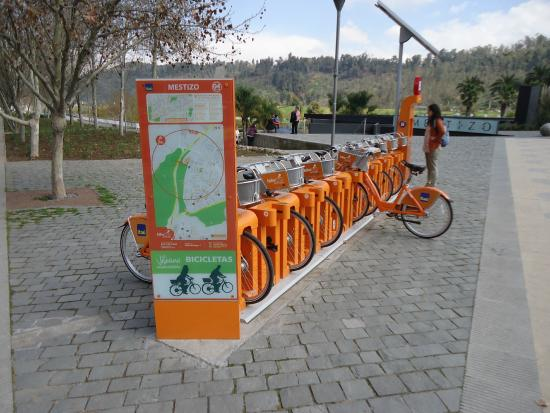 Santiago, Chile: Aluguel de Bicicletas do Itaú