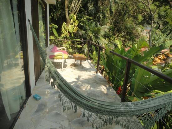 Casa Beleza: Bungalow deck
