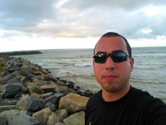 Coroa do Meio beach : eu na coroa do meio