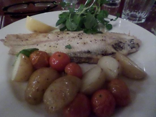 Oldfields Noted Eating House : Dover sole without  clams and prawns