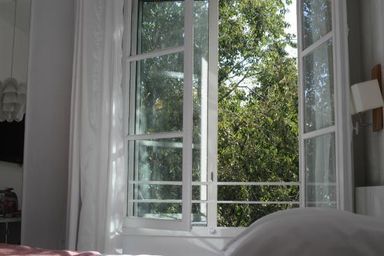 Hotel Cezanne: Janela do quarto
