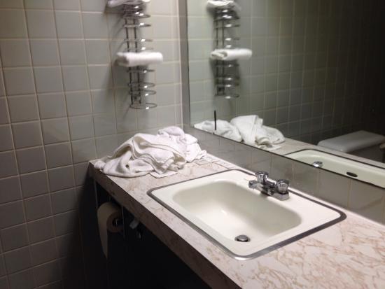 Wellington Hotel Sherbrooke: Salle de bain