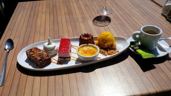 La Villa Margalex : Un somptueux café gourmand, on en redemande !!