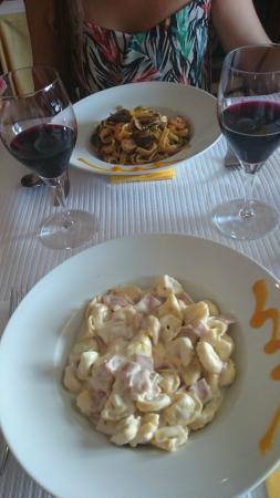 Gordinni Estoril: паста тоже очень вкусная