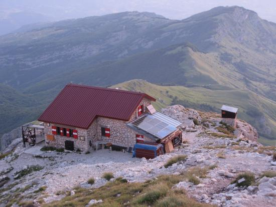 Rifugio Franchetti: Panorama