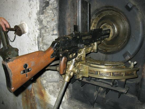 Inside An Ouvrage Picture Of Maginot Line Tours Tucker Tours