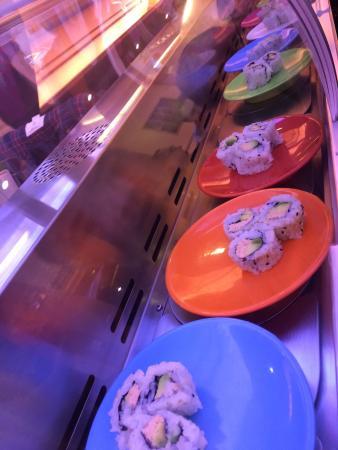 Asia Restaurant : Le sushi bar