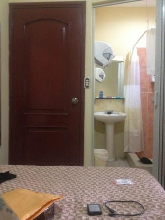 Hotel San Luis: Single room…