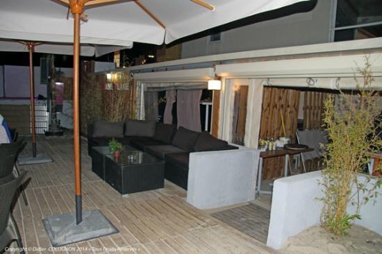 le bar picture of reve plage juan les pins tripadvisor. Black Bedroom Furniture Sets. Home Design Ideas