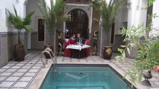 Riad & Spa Esprit du Maroc: Petit déjeuner  - Dîner... à votre convenance