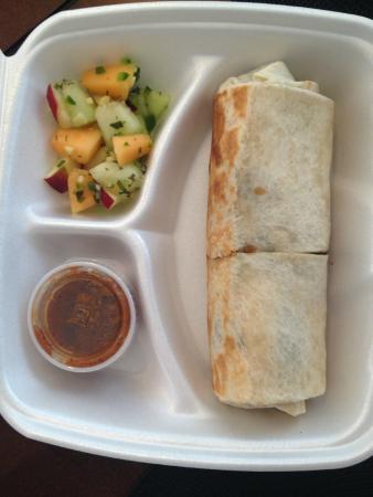 ultimate breakfast burrito picture of achiote mexican grill