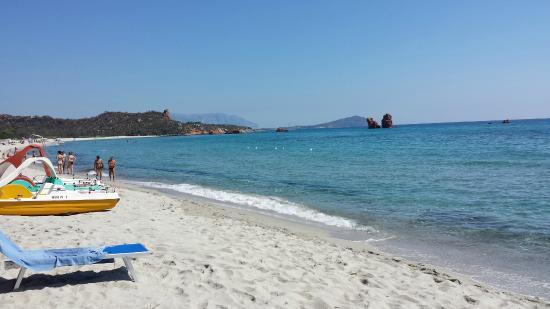 Domus De Janas Beach Resort: Spiaggia