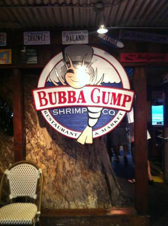 Bubba Gump Shrimp Co Lahaina: insegna