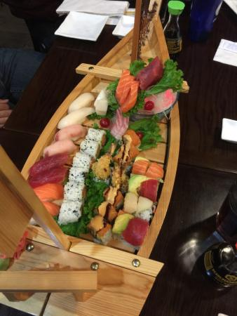 Ginza Japan Restaurant: The Love Boat