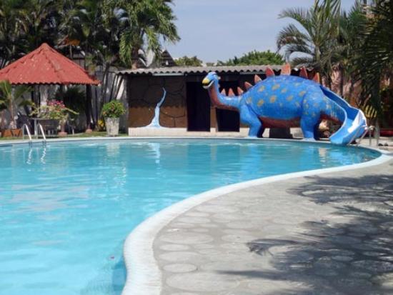 The pool at Hotel Santa Cruz