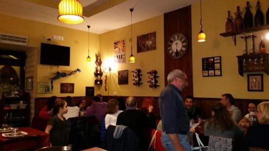 Mister Steak: Una parte del locale