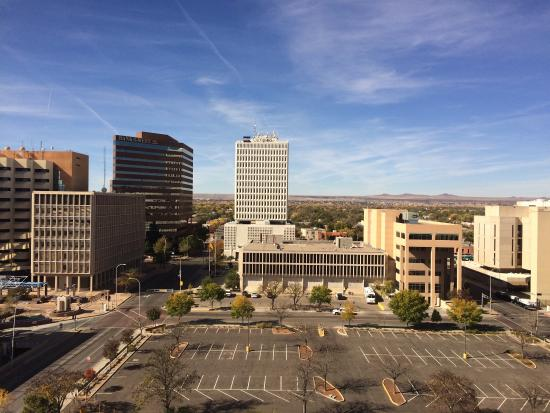 DoubleTree by Hilton Albuquerque: View from 10th floor bedroom