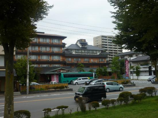 Hotel Nunohan: view from across the street