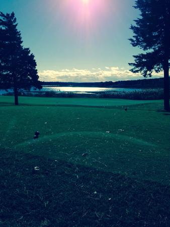 Farm Neck Golf Club: Awesome views!